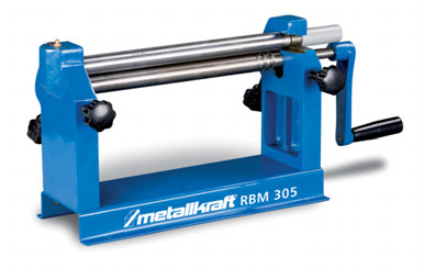 Curvadora de Cilindros Manual Metallkraft RBM 305.