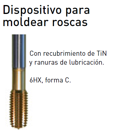 Macho de Roscar Optimum Thermdrill de M6.