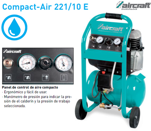 Compresor Aircraft Compact-Air 221/10 E.