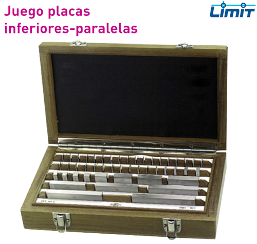 Juego Placas Inferiores - Paralelas Limit 47 DIN861/1.